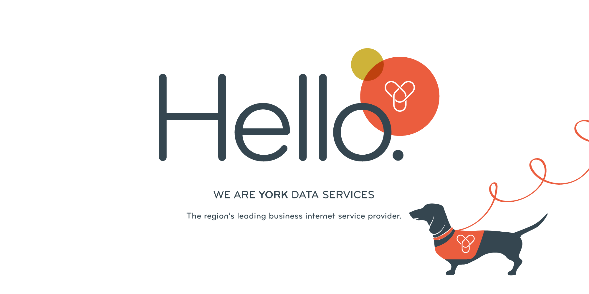 We are York Data Services. The region's leading business internet service provider.